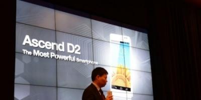 CES: Ascend D2 og Ascend Mate – to topmodeller fra Huawei
