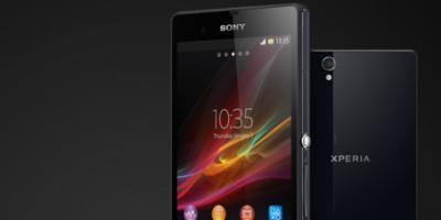 Sony Xperia Z – årets første Sony topmodel