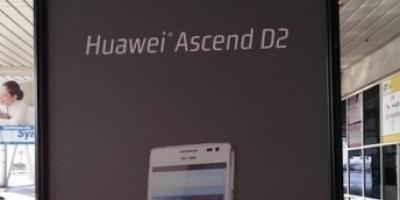 Huawei Ascend D2 er en realitet