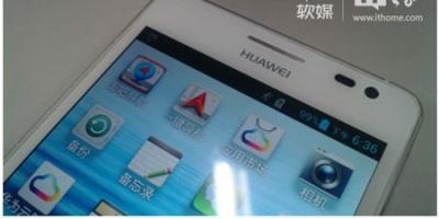 Nye billeder lækket af Huawei topmodel