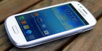 Først i Danmark: Minitest af Samsung Galaxy S III Mini