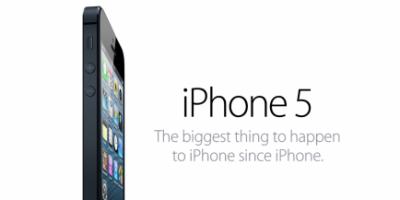 iPhone 5: Kun 4G LTE på 1800 MHz