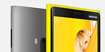 Nokia Lumia 920 kan betjenes med handsker og negle