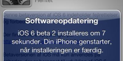 Nu er iOS 6.0 Beta 2 ude – se nogle af nyhederne her