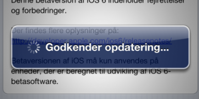Apple er klar med iOS 6.0 Beta 2