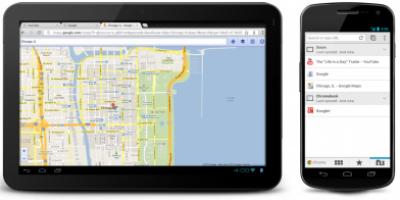 Google Chrome er nu klar til Android
