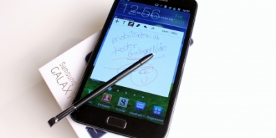 Samsung Galaxy Note – en stor blok (mobiltest)