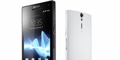 Den første smartphone fra Sony – Xperia S