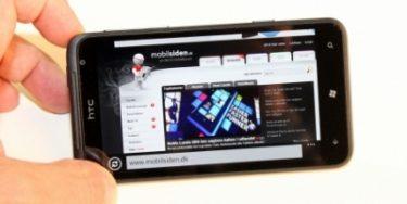 HTC Titan – en stor oplevelse (mobiltest)