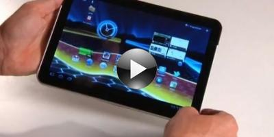 Motorola Xoom – powerfuld, men klodset (videotest)