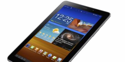 Samsung Galaxy Tab 7.7 – nyhed med superskærm