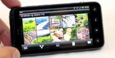 HTC Evo 3D – stor og måske træls? (mobiltest)