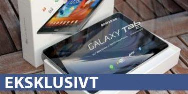 Samsung Galaxy Tab 10.1 – testen er i gang