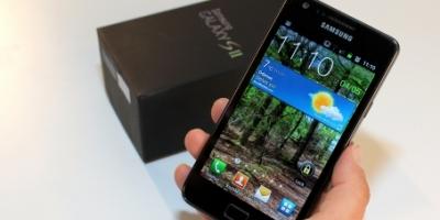 Samsung Galaxy S II – den fedeste Android-mobil (kæmpe mobiltest)
