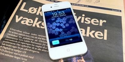 Den hvide iPhone 4 er her nu
