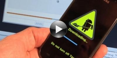 Sådan opdaterer du Samsung Galaxy S til ny Android