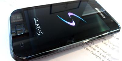 Samsung Galaxy S – kæmpetest af Samsungs power-mobil (mobiltest)