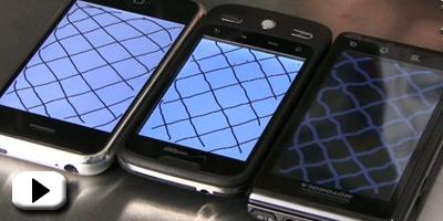 Test: iPhone har den bedste touchskærm