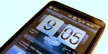 Test af HTC HD2 – dag 1