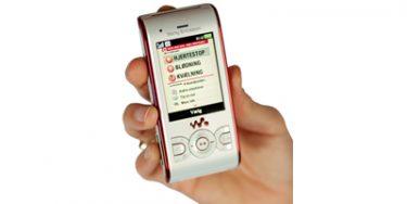 Red liv med mobilen