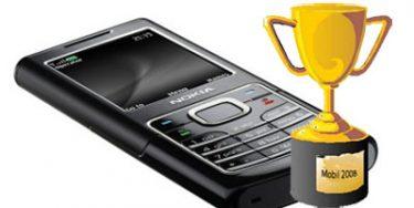 Nokia stadig nummer ét. De populæreste mobiler i 2008