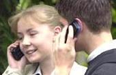 Unge med mobiler har trygge forældre