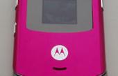 Motorola RAZR V3 – pink (Produkttest)