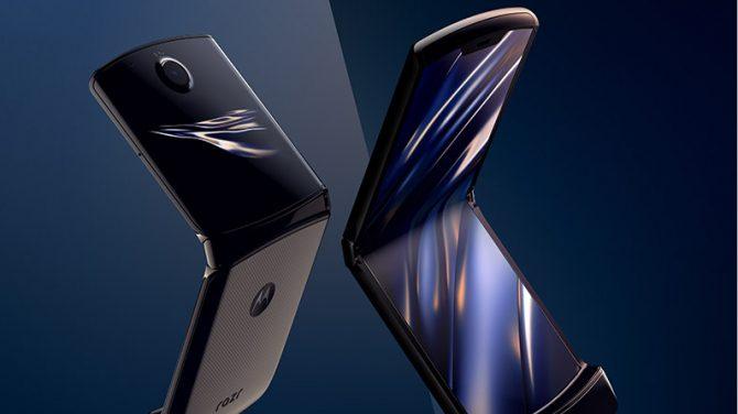 Kun 27.000 gange kunne Motorola Razr foldes