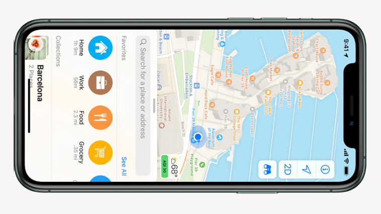 Apples redesignede kort skal udfordre Googles Maps