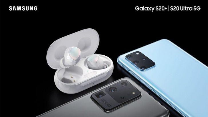 Samsung Galaxy S20 kommer med et sæt Galaxy Buds+