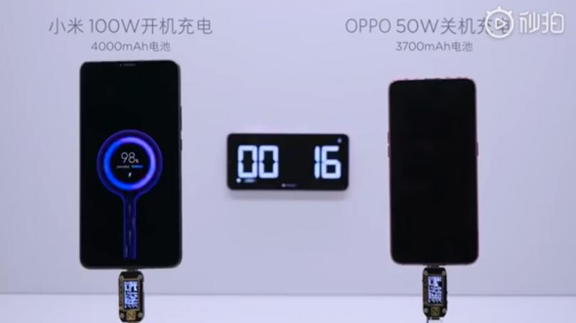 Xiaomi fremviser lynhurtig 100W-opladning