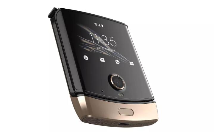 Motorola Razr Guld