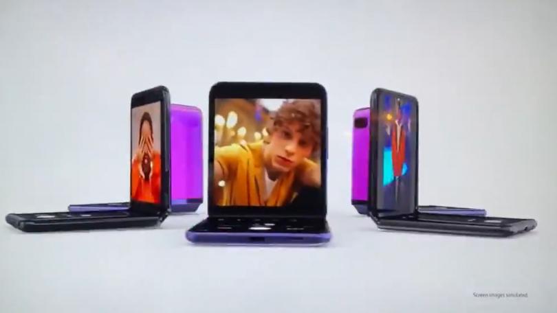 Samsung har allerede selv afsløret Galaxy Z Flip