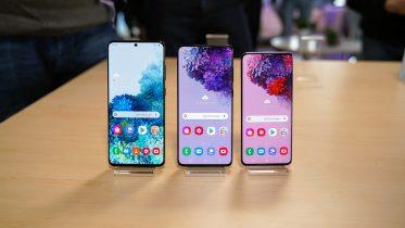 Der er forskel på 5G i de tre Samsung Galaxy S20