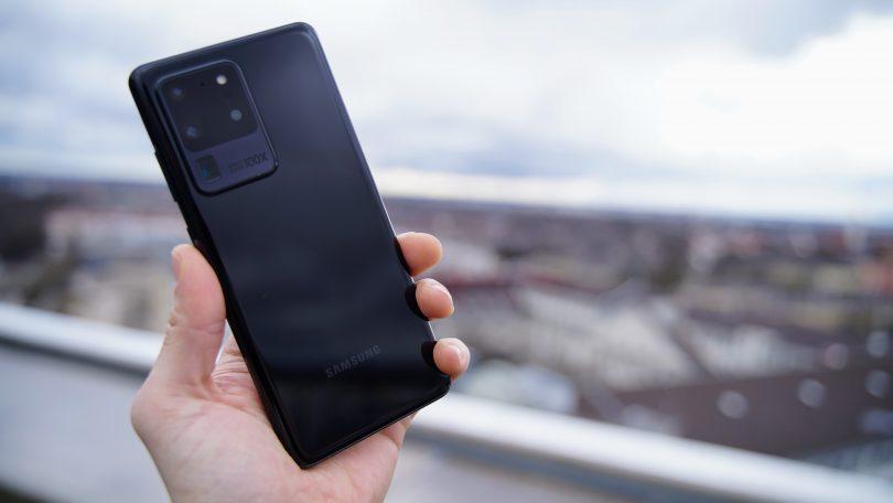 Samsung Galaxy S20 Ultra får opdatering med kameraforbedringer