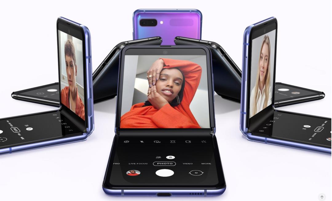 Samsung Galaxy Z Flip pris