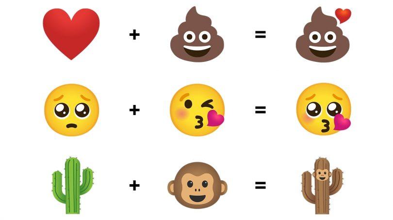 Nu kan du sammensætte dine helt egne emojis