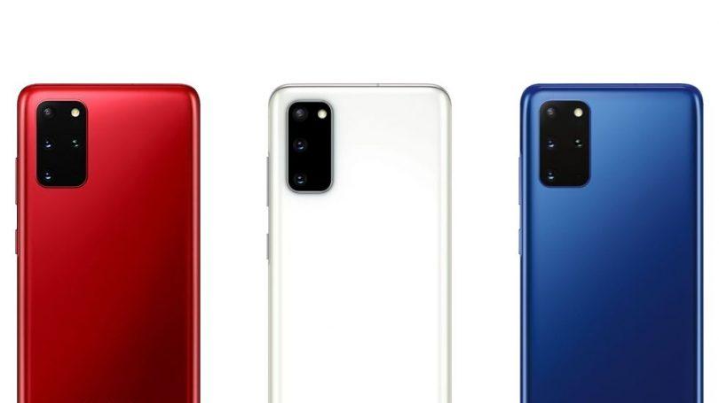 Samsung lancerer Galaxy S20 i tre nye farver
