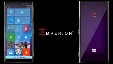 EMPERION Nebulus: Ny smartphone med Windows 10 Pro understøtter Android-apps