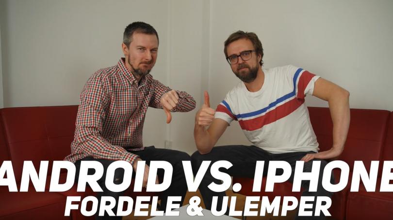 Web-TV: Android-mobiler mod iPhones – fordele og ulemper