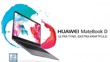 Huawei MateBook D14 og D15: Prisstærke bærbare med dagslang batteritid