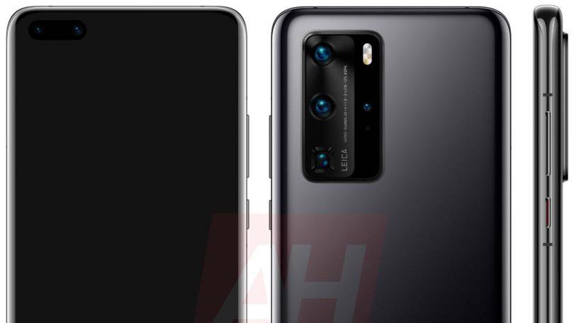 Huawei P40-serien præsenteres den 26. marts