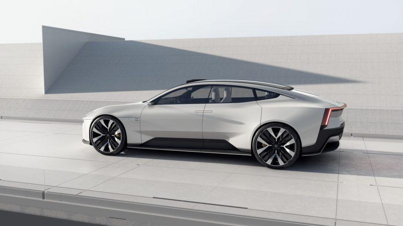 Koncept-elbilen Polestar Precept har Googles nye Android Automotive