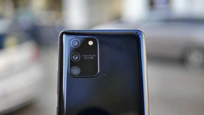 Samsung forbedrer kamera og fingeraftrykslæser på Galaxy S10 Lite
