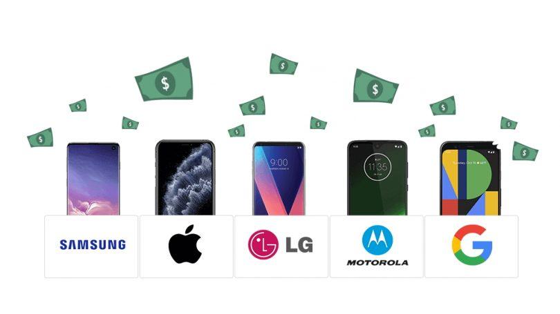 Android-telefoner taber deres værdi dobbelt så hurtigt som iPhones