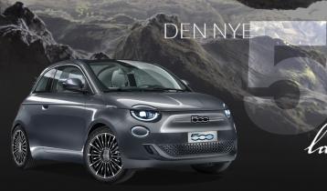 Fiat 500 elbil La Prima