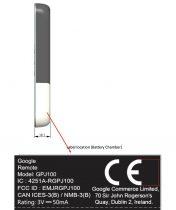 Chromecast fjernbetjening