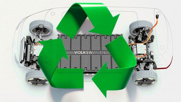 Elbil VW batteri genbrug