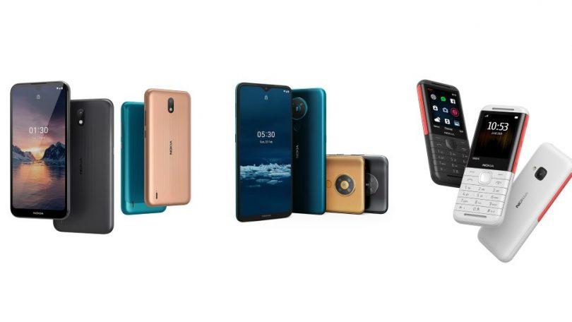 Nye prisbaskere: Her er Nokia 5.3, Nokia 1.3 og Nokia 5310
