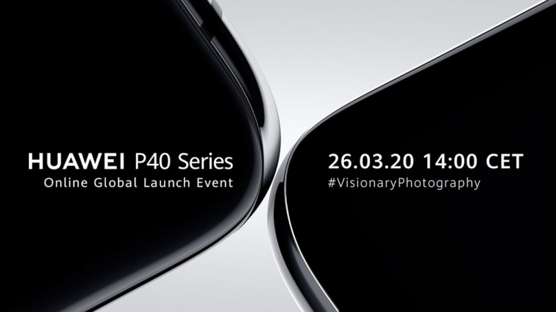 Huawei P40-serien lanceres: Sådan kan du følge med